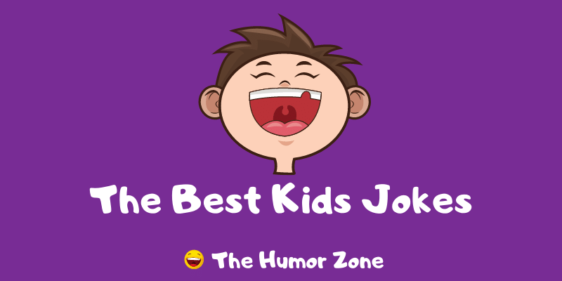Featured image for a page of the best kids jokes.