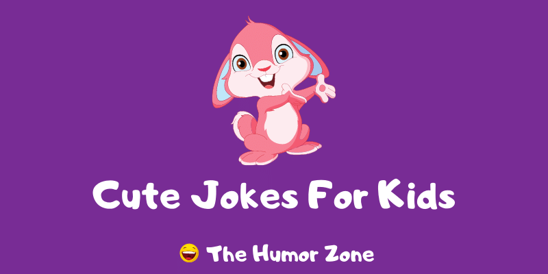 Featured image for a page of funny cute jokes for kids.