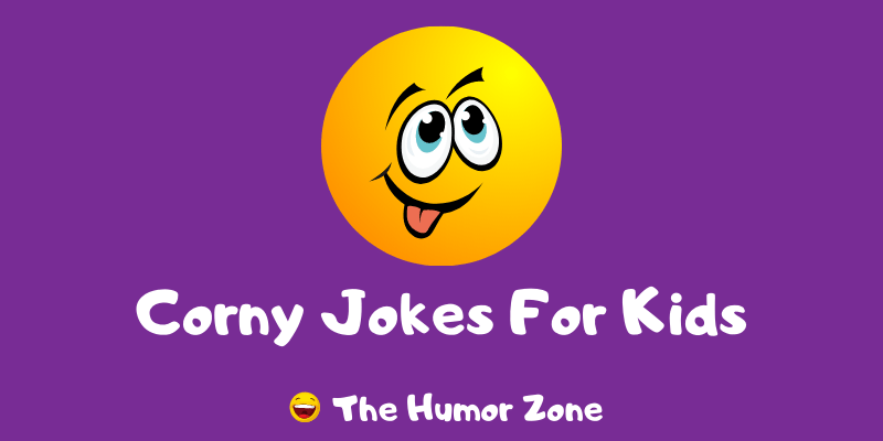 Featured image for a page of corny jokes for kids.