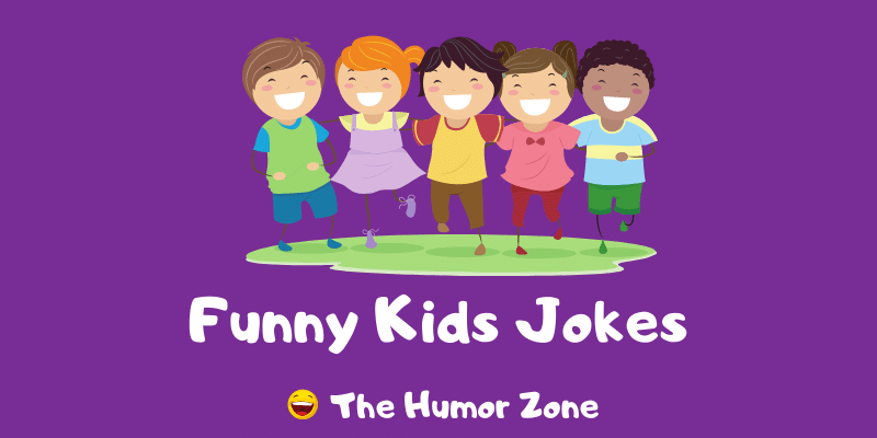 Featured image for a page of funny kids jokes and puns.