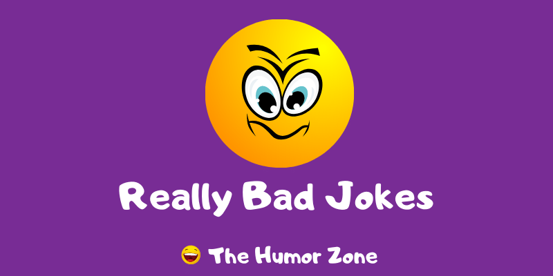 Featured image for a page of really bad jokes and puns.