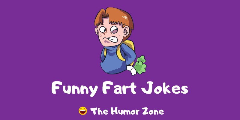 Featured image for a page of funny fart jokes and puns